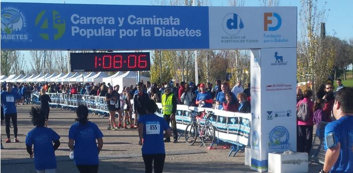 Carrera ¡Muévete por la diabetes!
