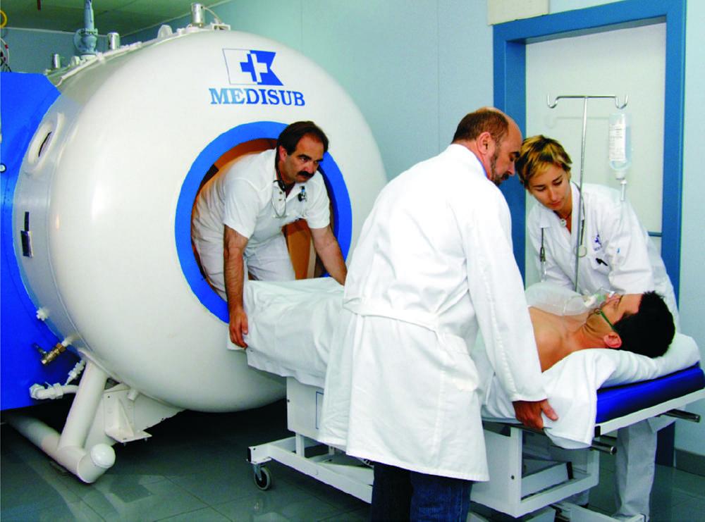Medicina hiperbárica para el tratamiento del pie deldiabético