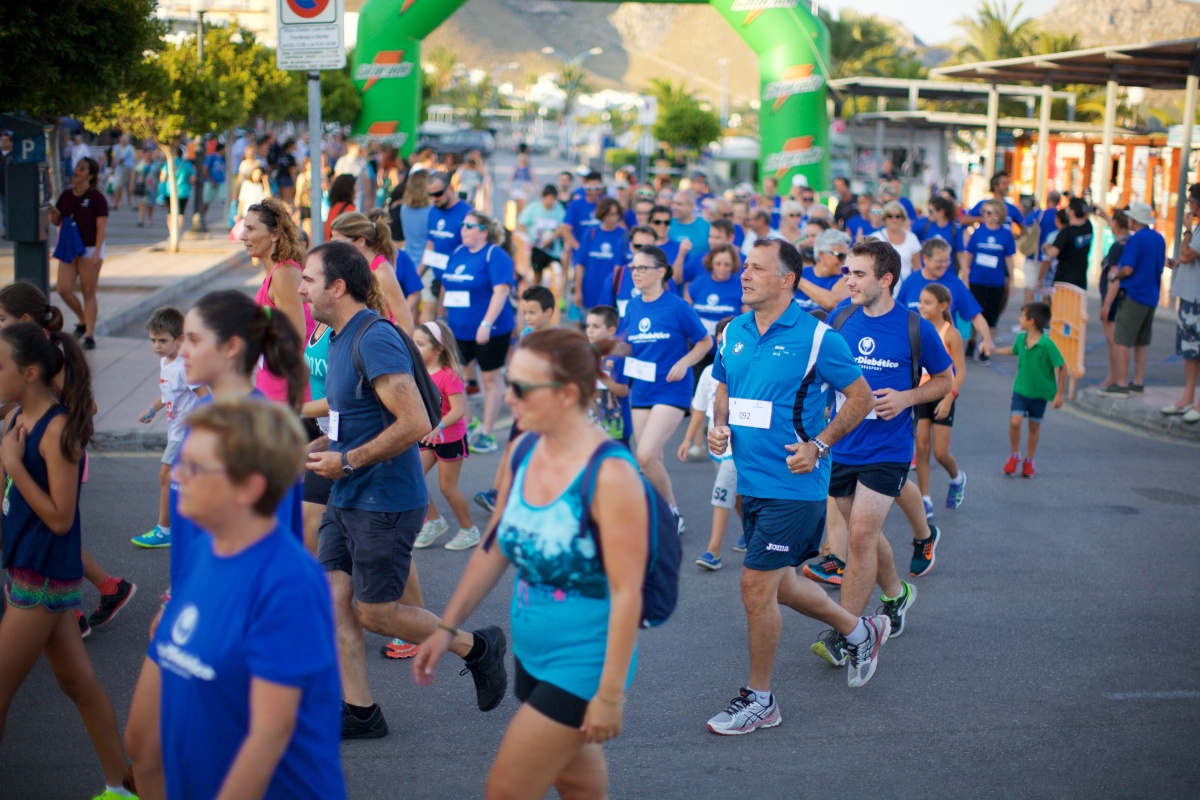 "II Carrera-Caminata Popular ""Mueve tus pies por la Diabetes"