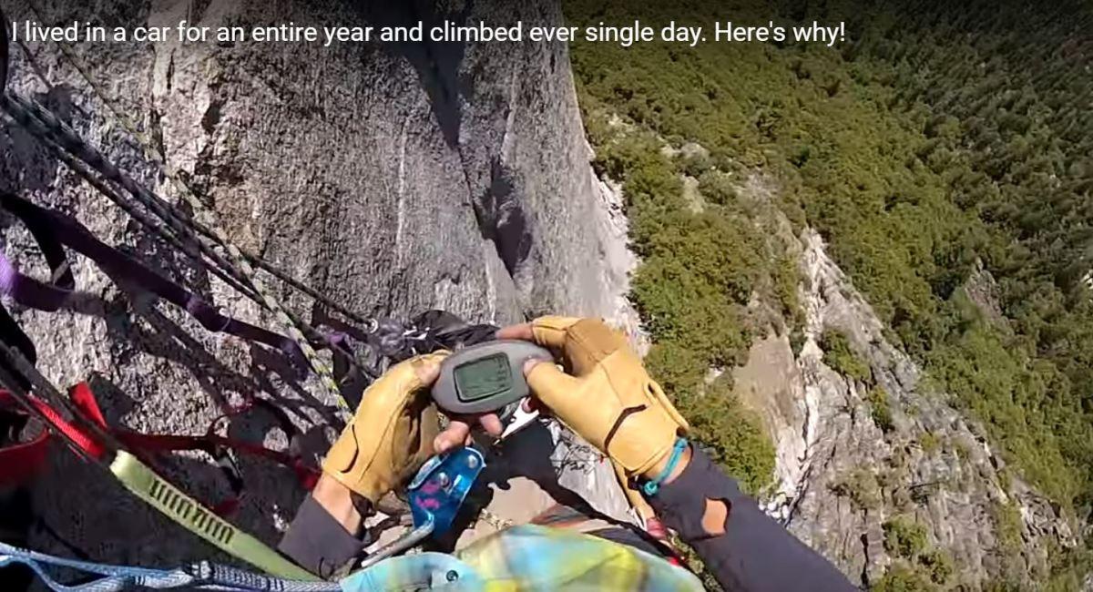 ¿Aguantarías 365 días consecutivos escalando? Te traemos la historia de un chico con diabetes tipo 1 que sí lohizo.