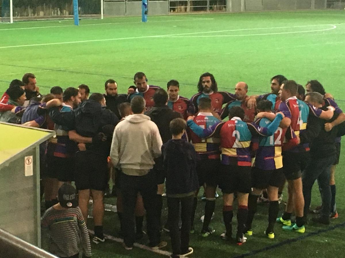 Control glucémico en un partido de rugby para evitarhipoglucemia