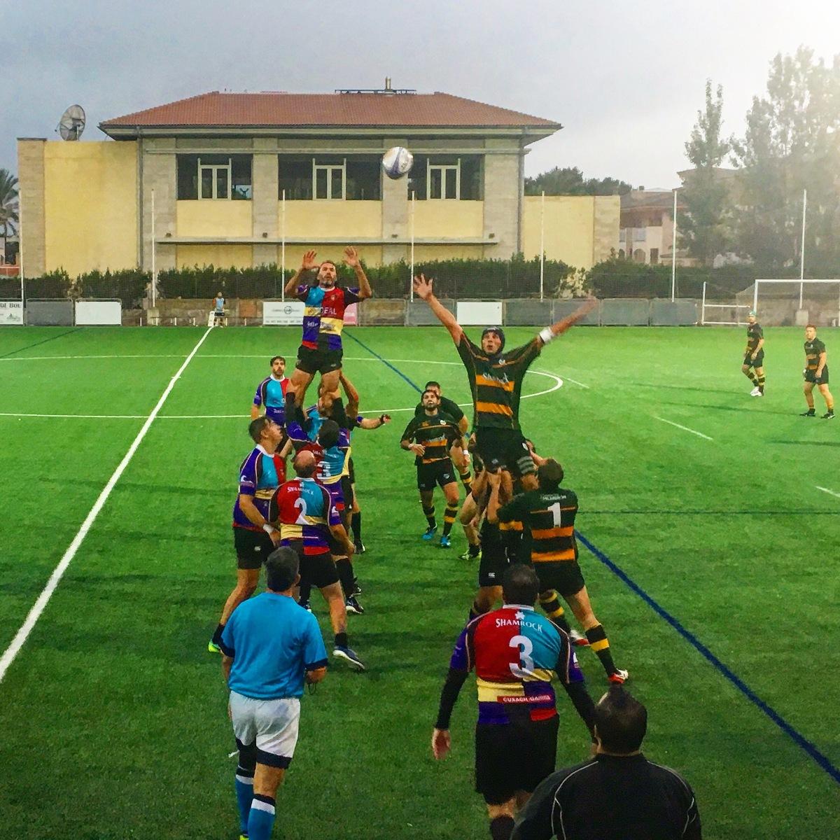 Rugby II. Posiciones dejuego